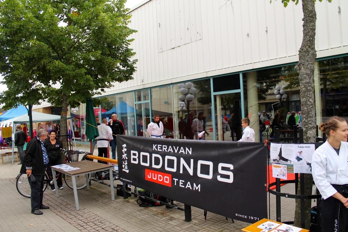 Bodonos Judo Team Liiku ja harrasta katutapahtumassa